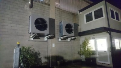 TMP Lesmo pompa di calore aria-aria industriale kita air Templari appese EQUA Srl Como