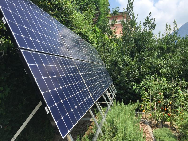 fotovoltaico a cernobbio struttura k2