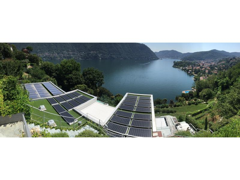 fotovoltaico a cernobbio vista lago